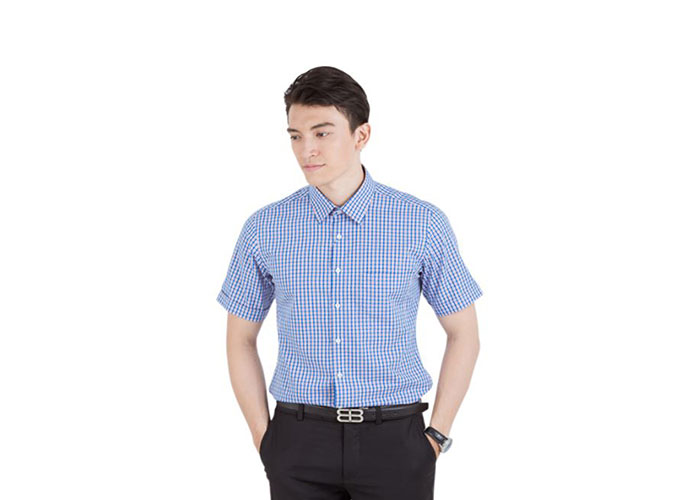 Cách đo size áo đồng phục sơ mi nam chuẩn nhất