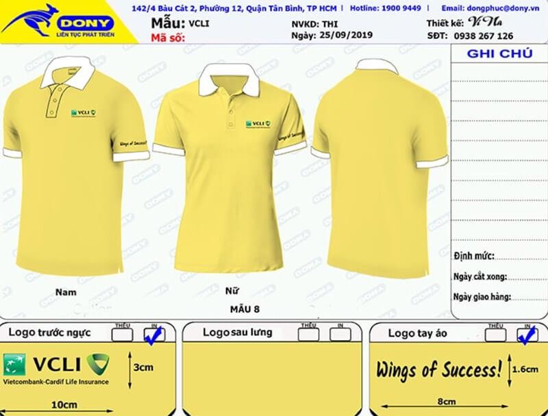 File thiết kế áo Vietcombank