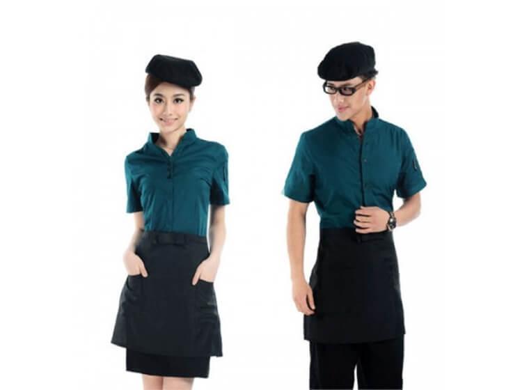 Mẫu đồng phục cafe đẹp 8