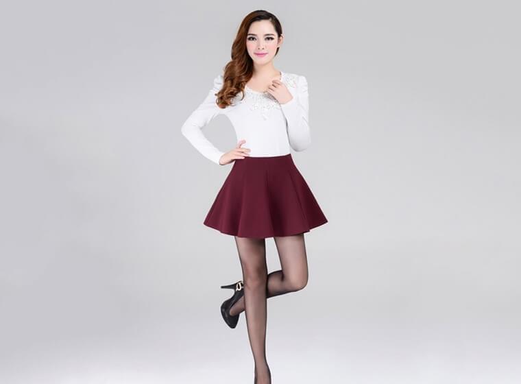 Mẫu đồng phục Váy, Quần Tây, Quần Kaki đẹp 9