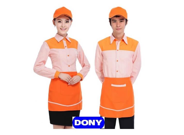Mẫu đồng phục cafe đẹp 12