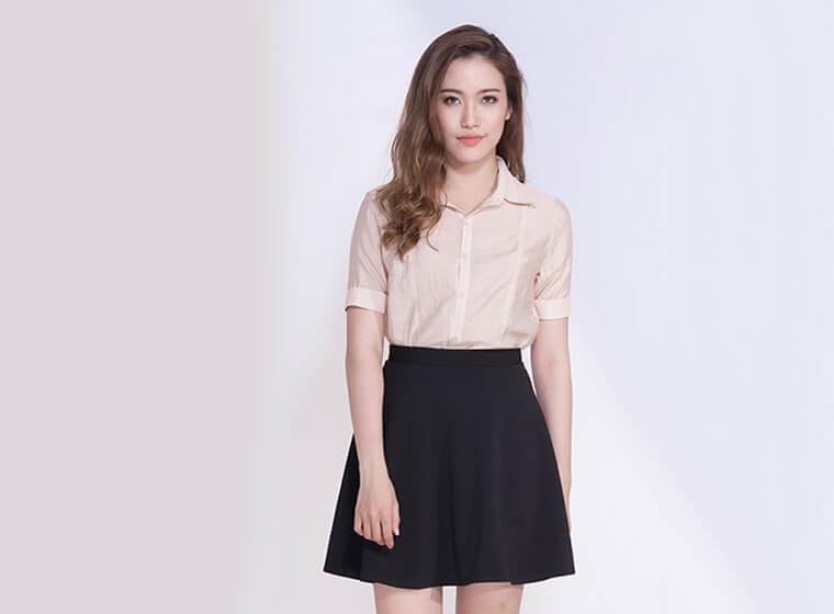 Mẫu đồng phục Váy, Quần Tây, Quần Kaki đẹp 12