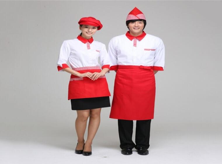 Mẫu đồng phục nhà hàng khách sạn đẹp 22