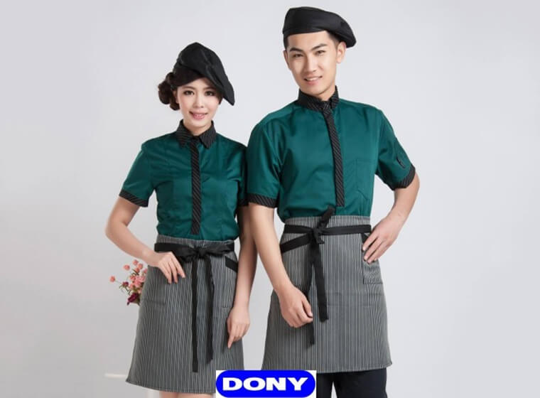 Mẫu đồng phục cafe đẹp 14