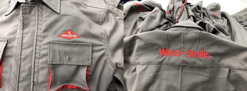Logo ngực và sau áo
