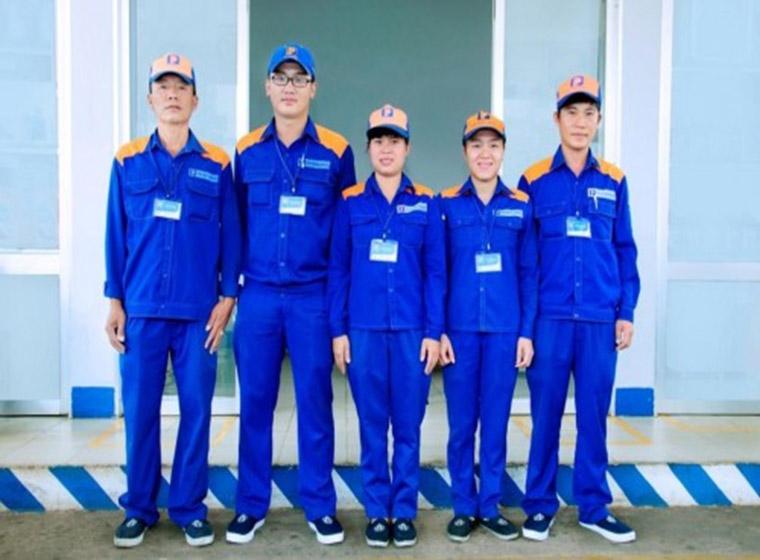 Mẫu đồng phục công nhân bảo hộ đẹp 32