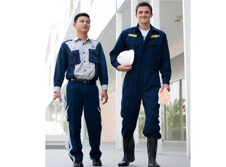 Mẫu đồng phục công nhân bảo hộ đẹp 34
