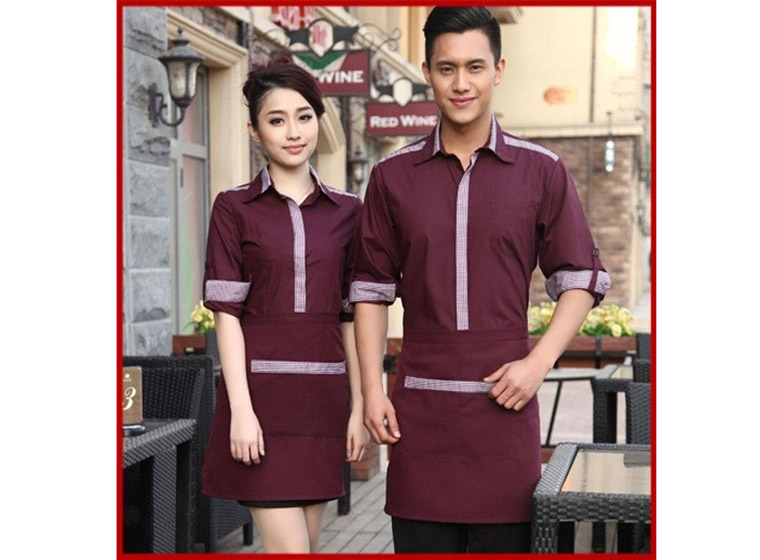 Mẫu đồng phục cafe đẹp 19
