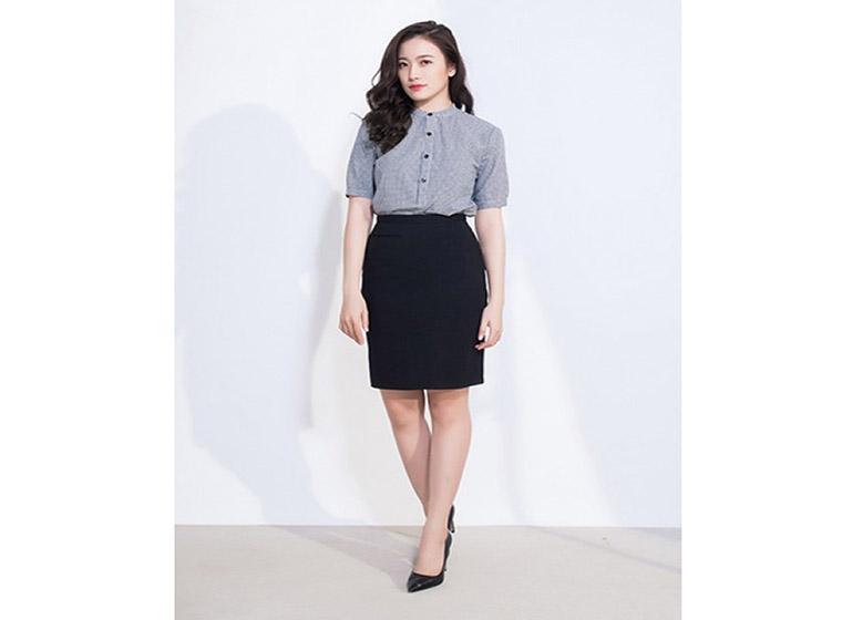 Mẫu đồng phục Váy, Quần Tây, Quần Kaki đẹp 26
