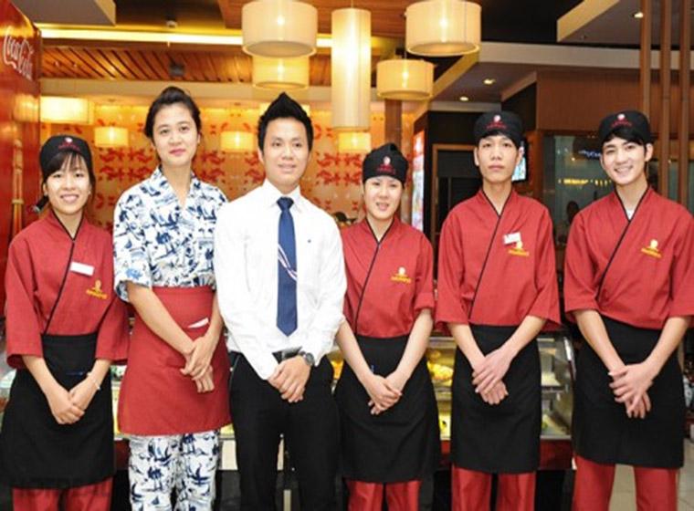 Mẫu đồng phục nhà hàng khách sạn đẹp 42