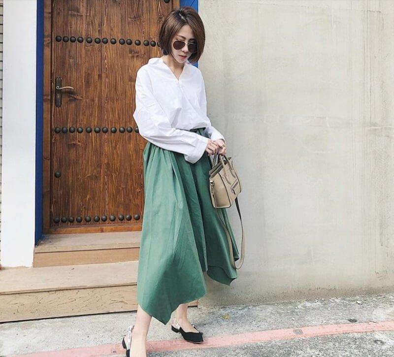 Cách lựa chọn chân váy midi phù hợp