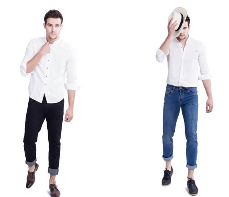 Phối với quần Jean mang đến cảm giác trẻ trung và năng động