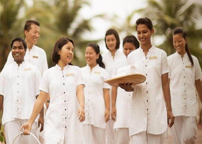 Top 5 loại vải may đồng phục cực đẹp cho nhân viên spa