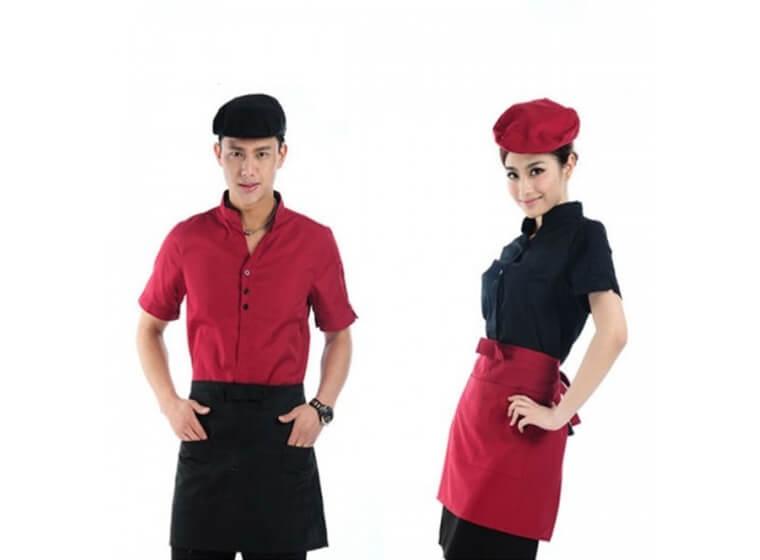 Mẫu đồng phục cafe đẹp 7