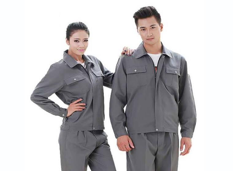 Mẫu đồng phục công nhân bảo hộ đẹp 50