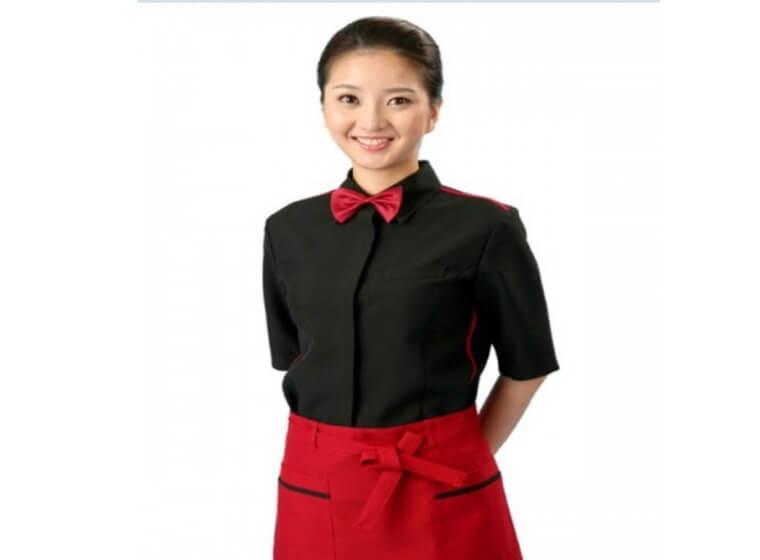 Mẫu đồng phục cafe đẹp 9