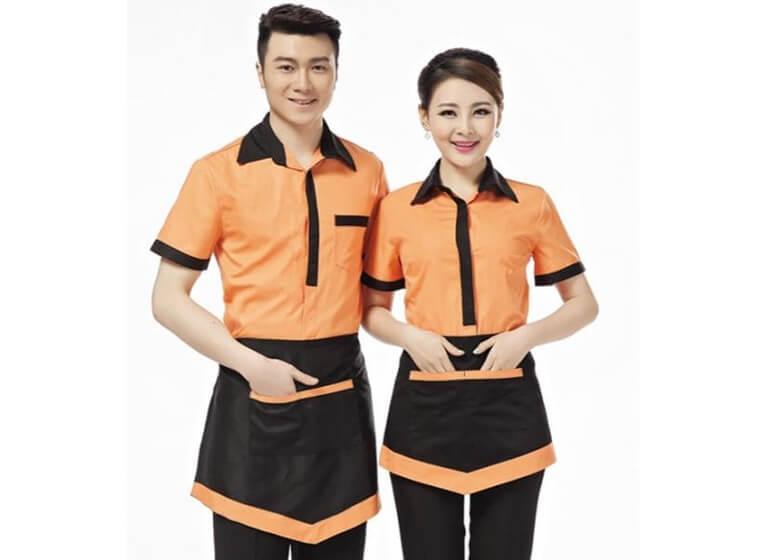 Mẫu đồng phục cafe đẹp 3