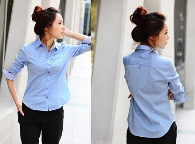 Mẫu áo sơ mi đồng phục đẹp 6