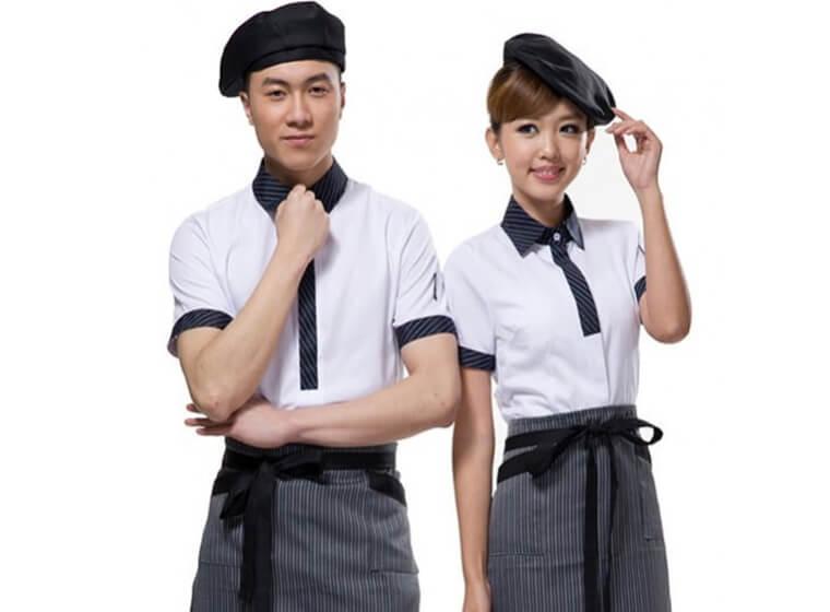 Mẫu đồng phục cafe đẹp 4