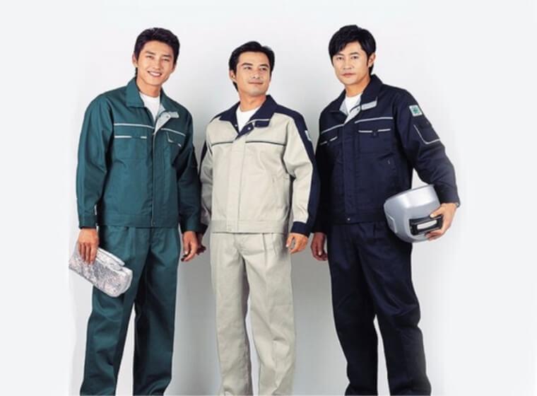 Mẫu đồng phục công nhân bảo hộ đẹp 17