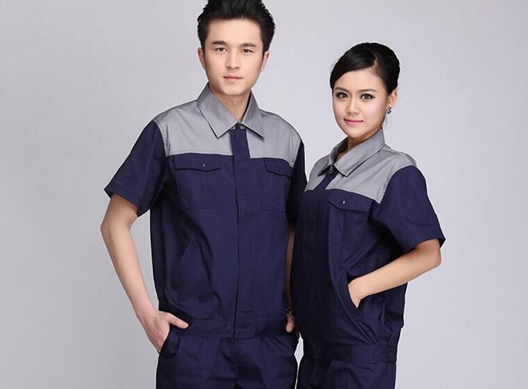 Mẫu đồng phục công nhân bảo hộ đẹp 48
