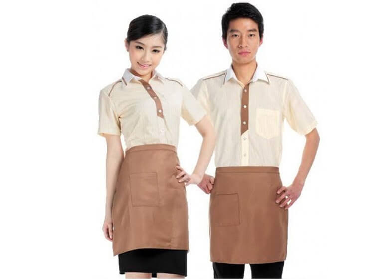 Mẫu đồng phục cafe đẹp 6