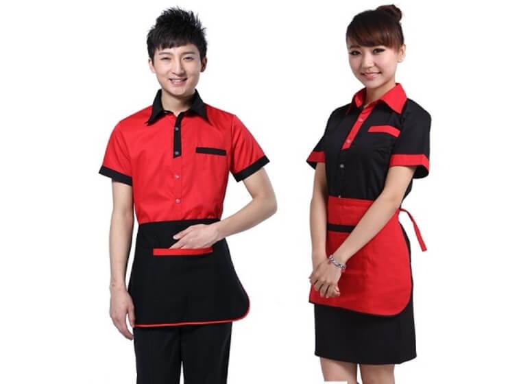 Mẫu đồng phục nhà hàng khách sạn đẹp 14