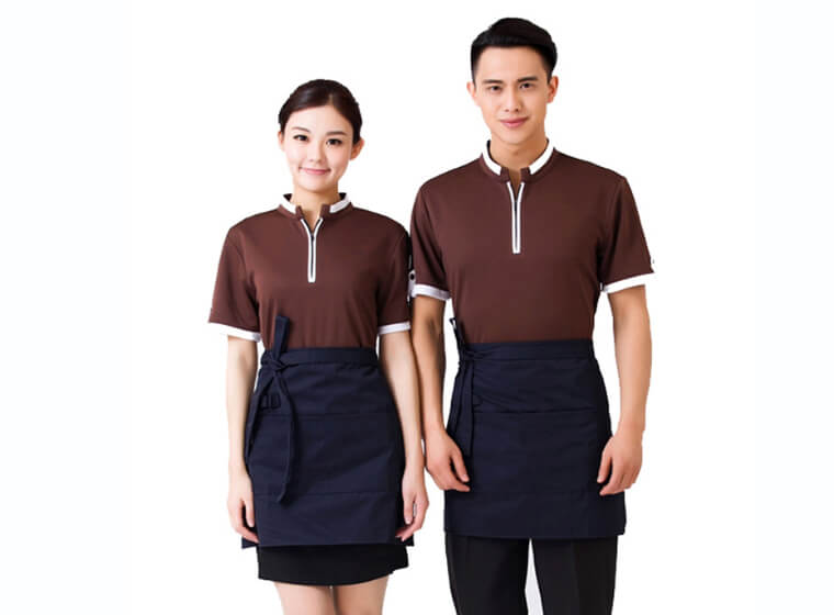 Mẫu đồng phục tạp dề đẹp 3