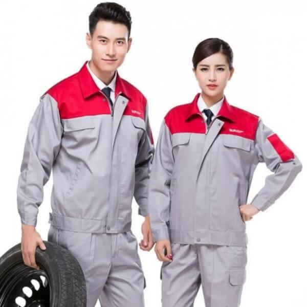 Xưởng may quần áo đồng phục bảo hộ lao động 4