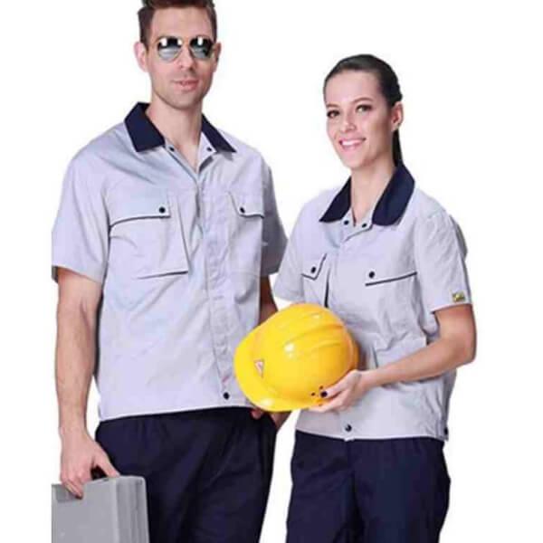 Xưởng may quần áo đồng phục bảo hộ lao động 7