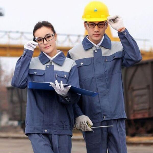 Xưởng may quần áo đồng phục bảo hộ lao động 9