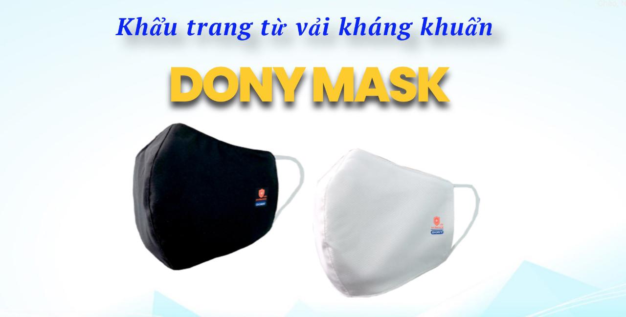 Xưởng sản xuất khẩu trang kháng khuẩn DONY MASK 1