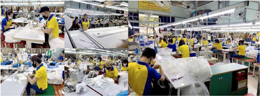Xưởng sản xuất khẩu trang kháng khuẩn DONY MASK 7