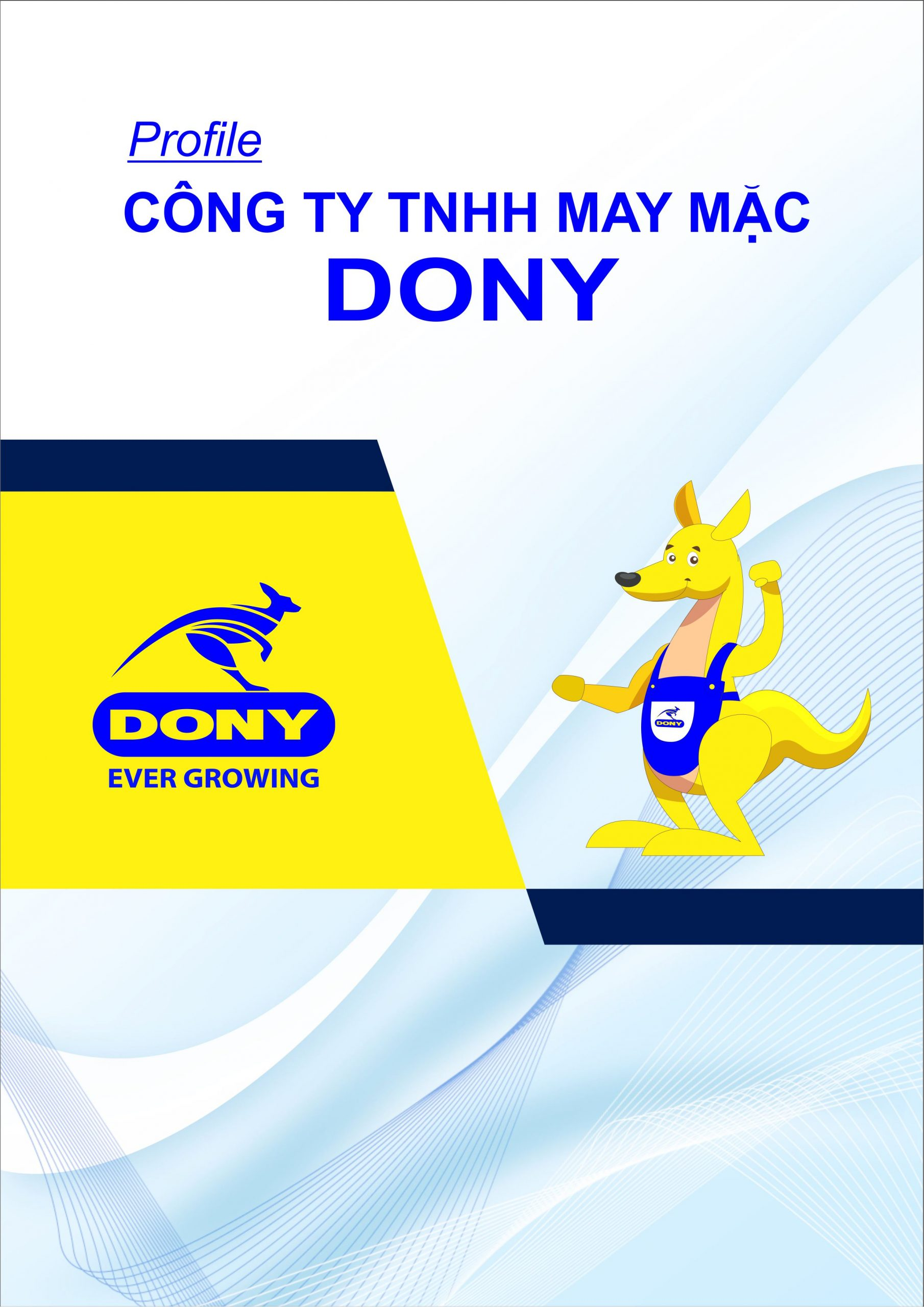 PROFILE ĐỒNG PHỤC DONY 1