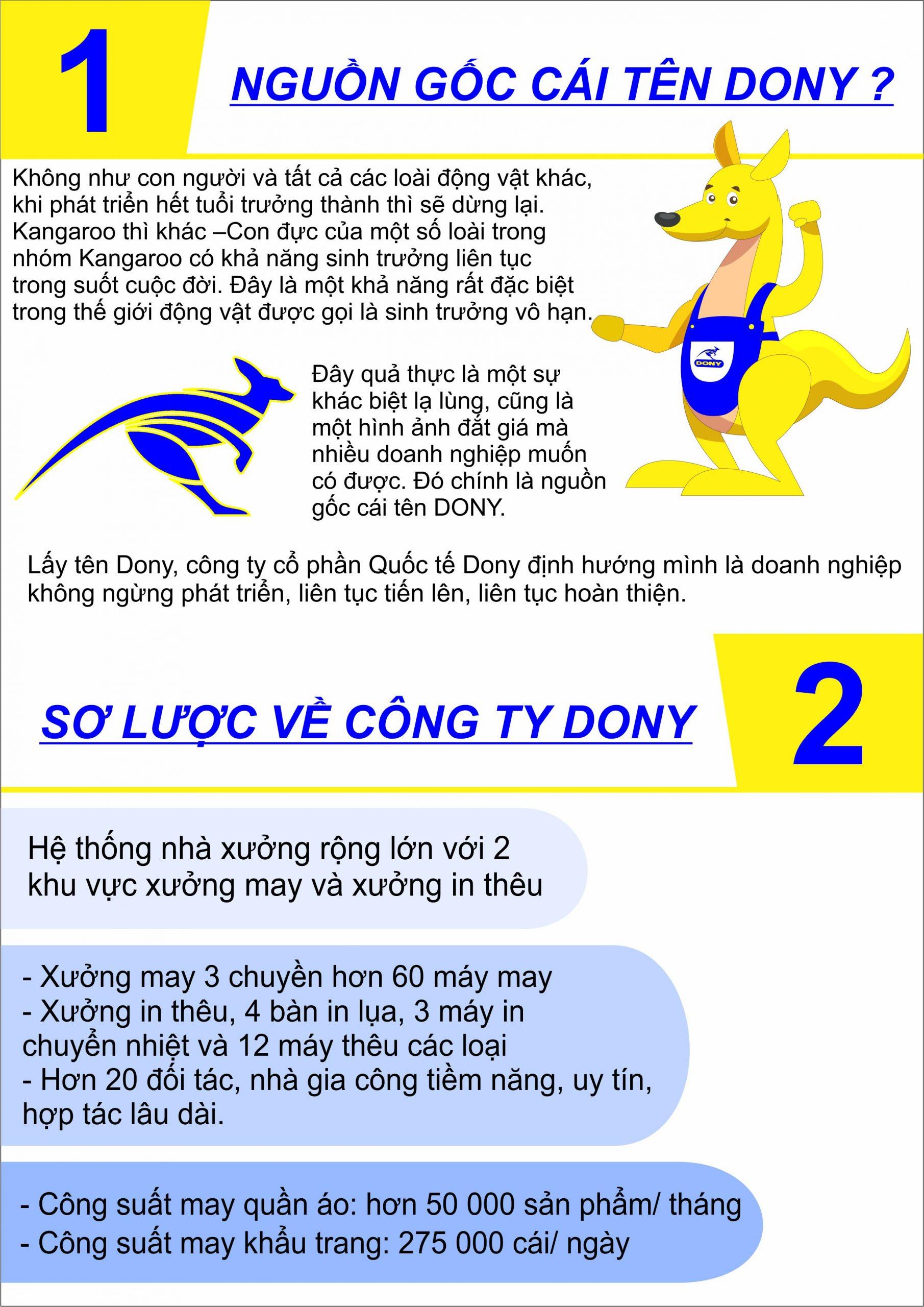 PROFILE ĐỒNG PHỤC DONY 2