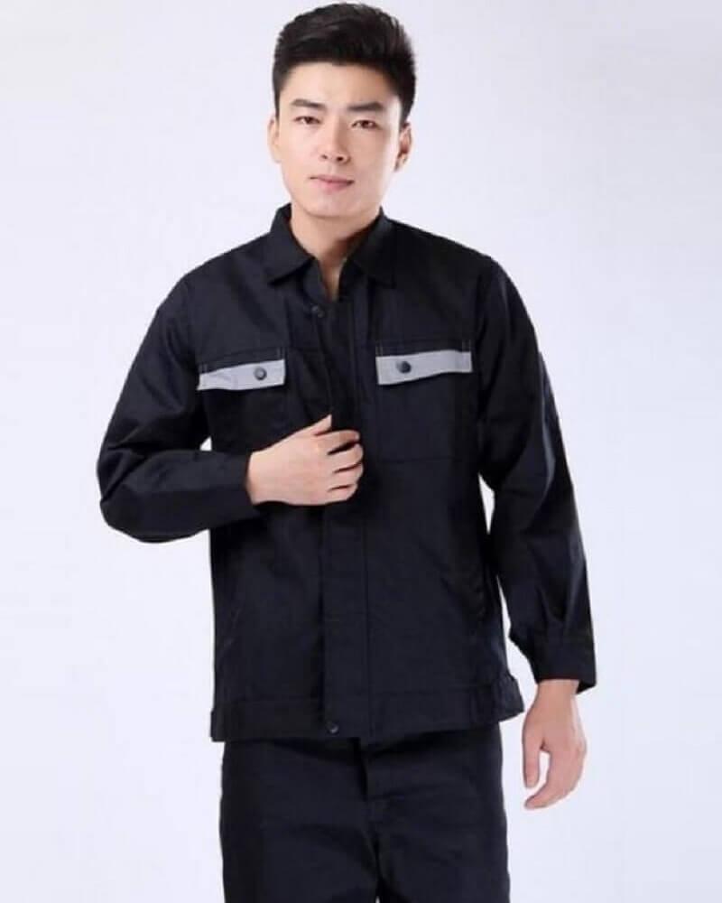 Mẫu đồng phục công nhân kỹ thuật cơ khí 9