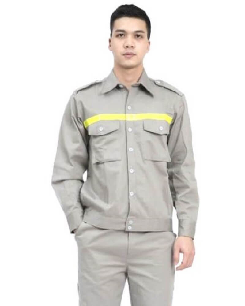 Mẫu đồng phục công nhân kỹ thuật cơ khí 11