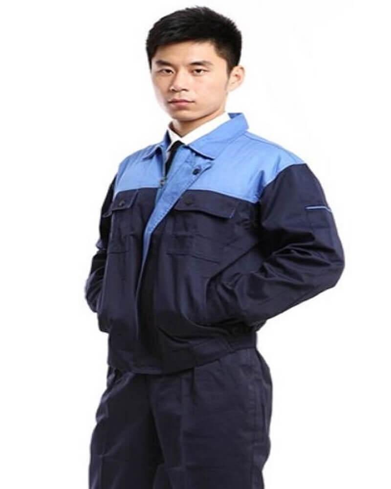 Mẫu đồng phục công nhân kỹ thuật cơ khí 2