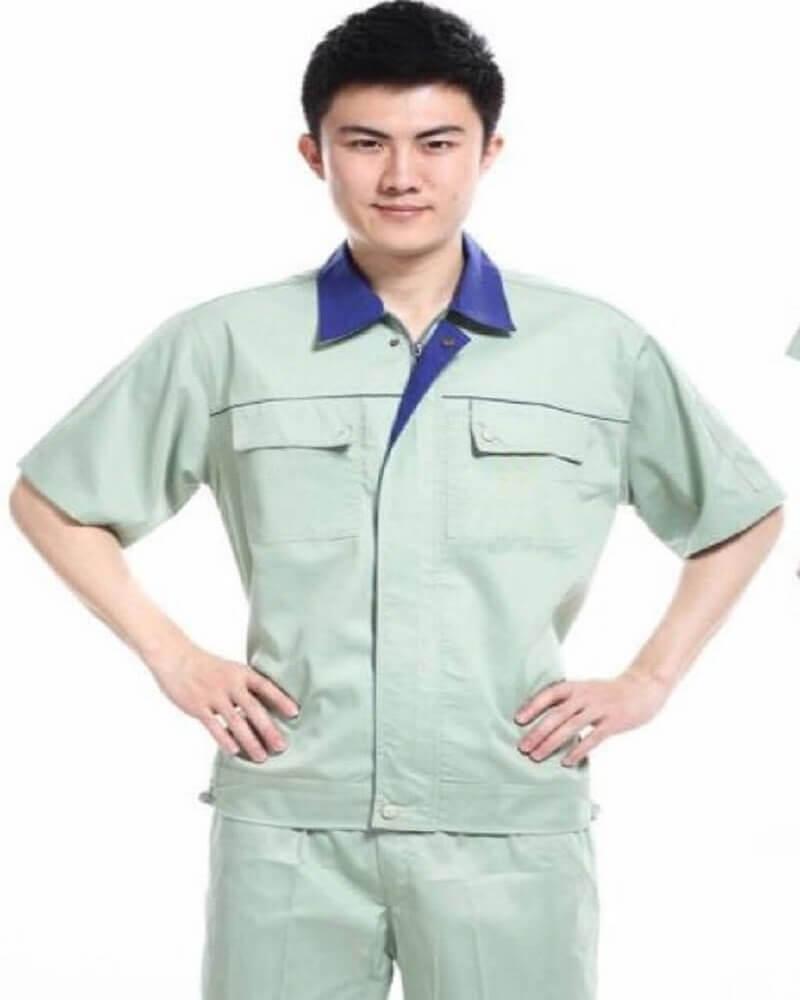 Mẫu đồng phục công nhân kỹ thuật cơ khí 1