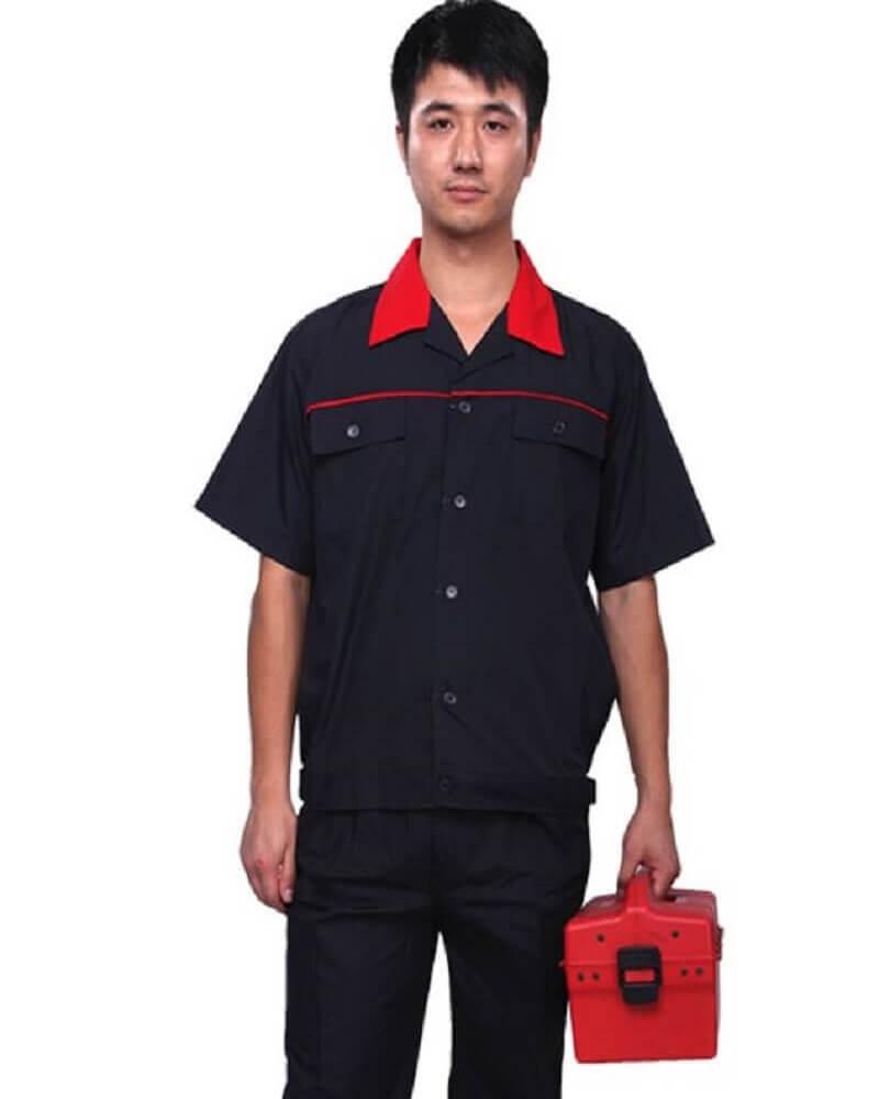 Mẫu đồng phục công nhân kỹ thuật cơ khí 6