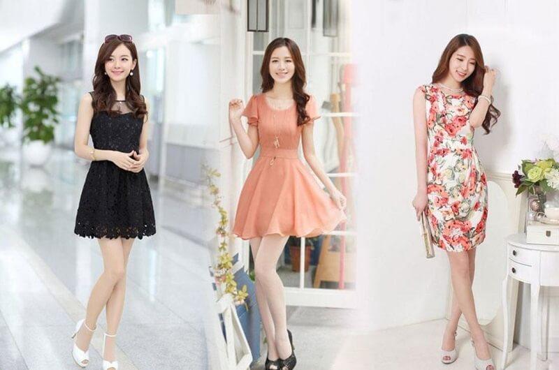 Tổng hợp các mẫu váy xòe liền thân đẹp đang hot nhất năm nay