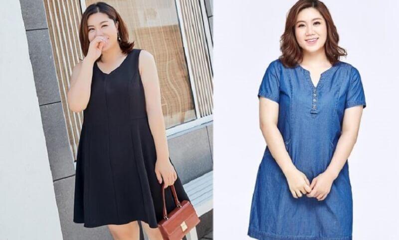 Lựa chọn đầm dành cho người mập 70kg phù hợp giúp chị em tự tin hơn