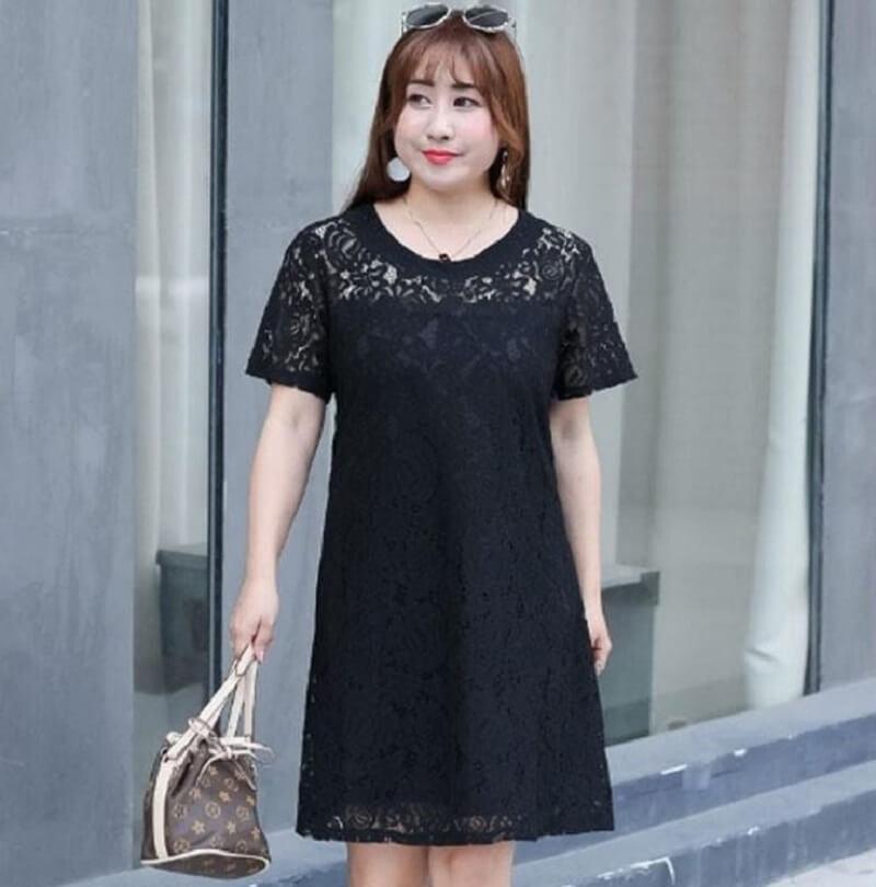 Đầm suông giúp ăn gian vóc dáng hiệu quả