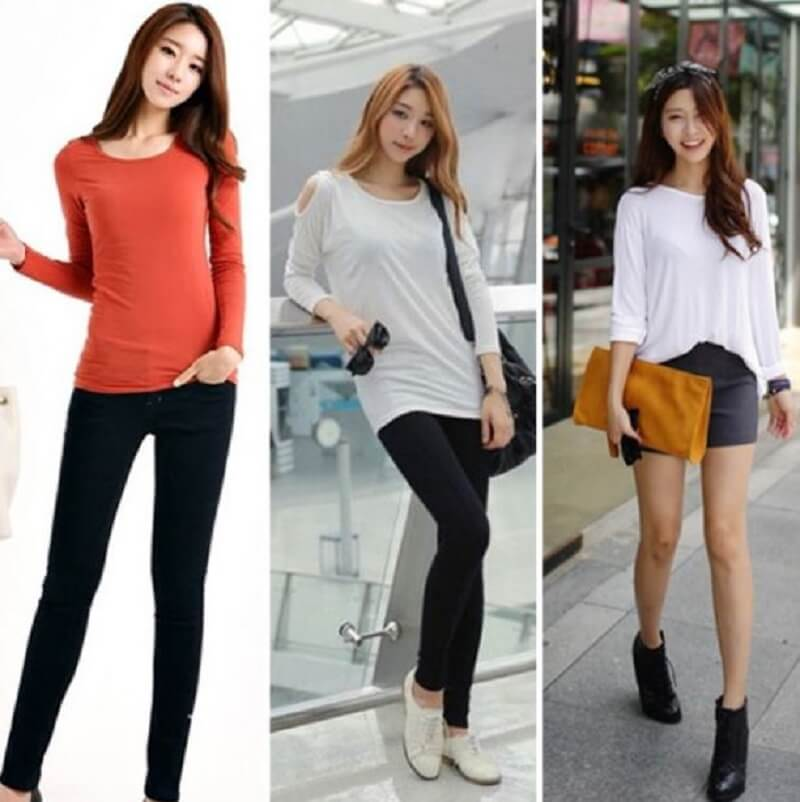 6 Mẫu áo thun tay dài nữ sang trọng và tinh tế cho chị em công sở