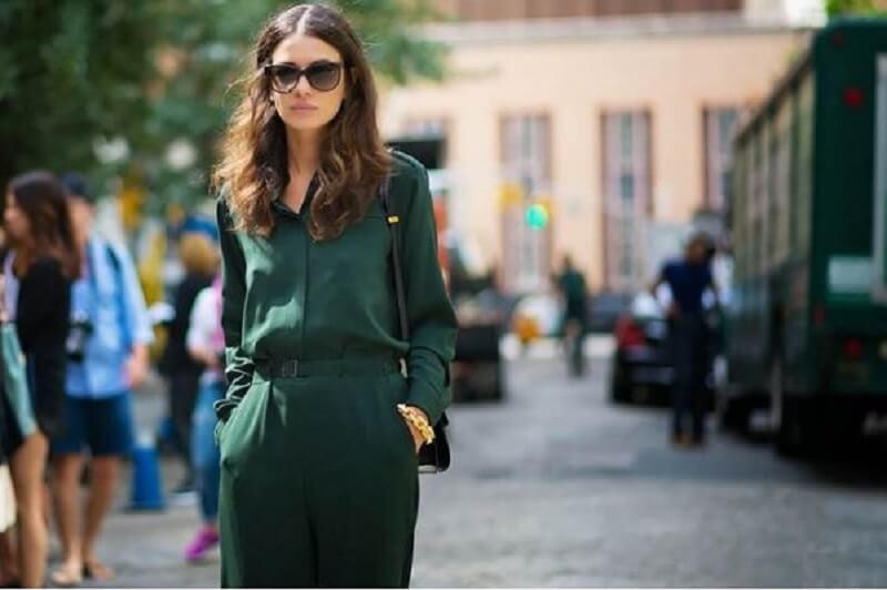 Cách phối màu quần áo đơn sắc