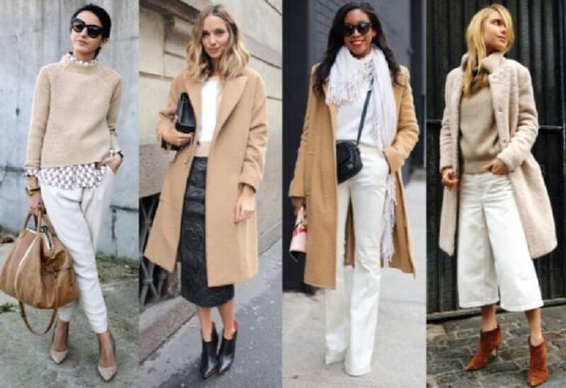 Cách phối màu quần áo bổ sung