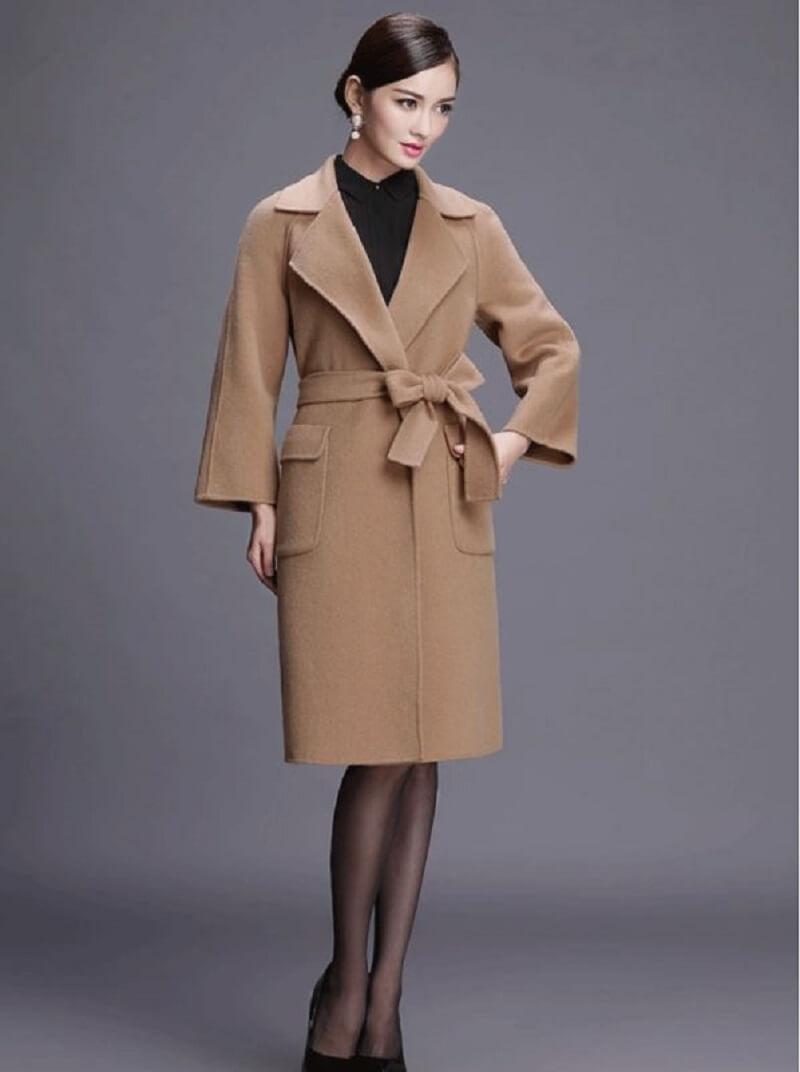 Thắt nơ cho áo khoác