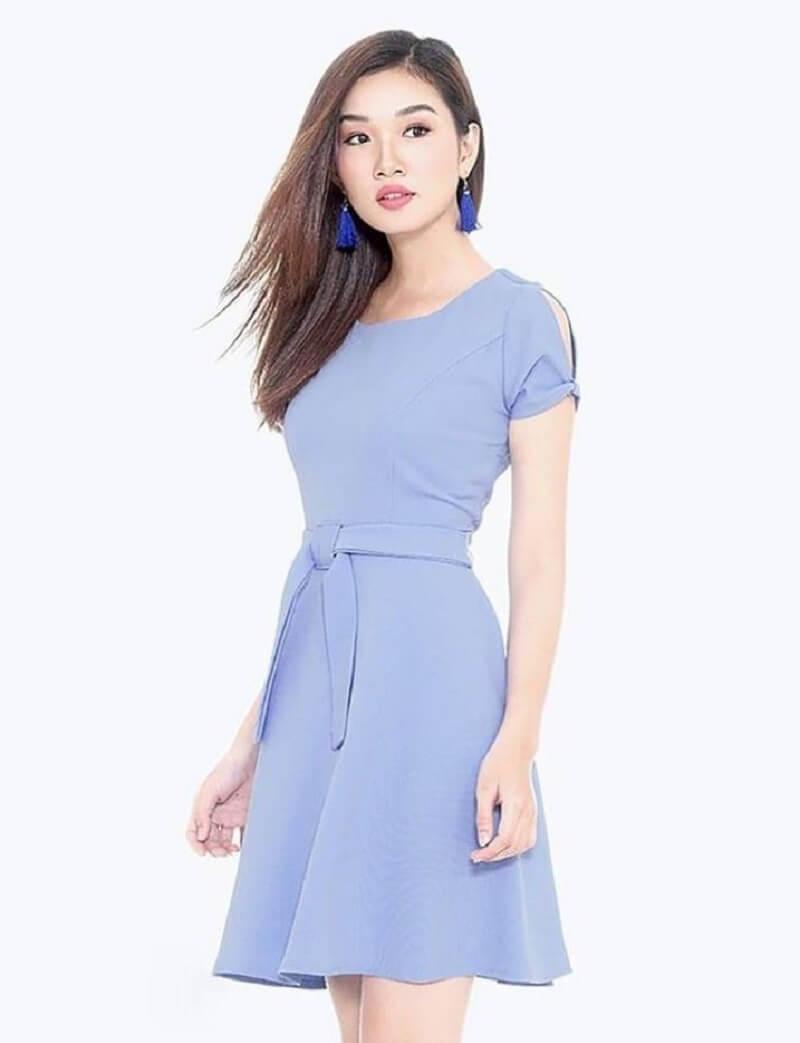 Màu xanh dương nhạt là biểu tượng của hòa bình