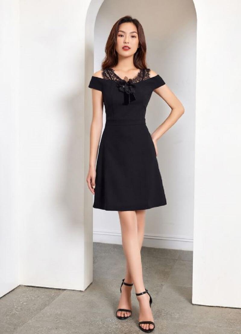 Trang phục màu đen cho nam, nữ công sở