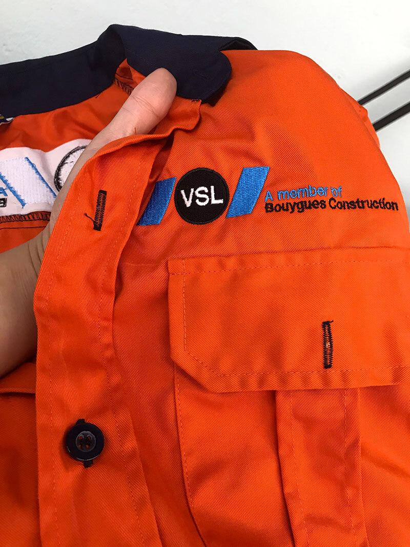 Áo bảo hộ VSL chi tiết